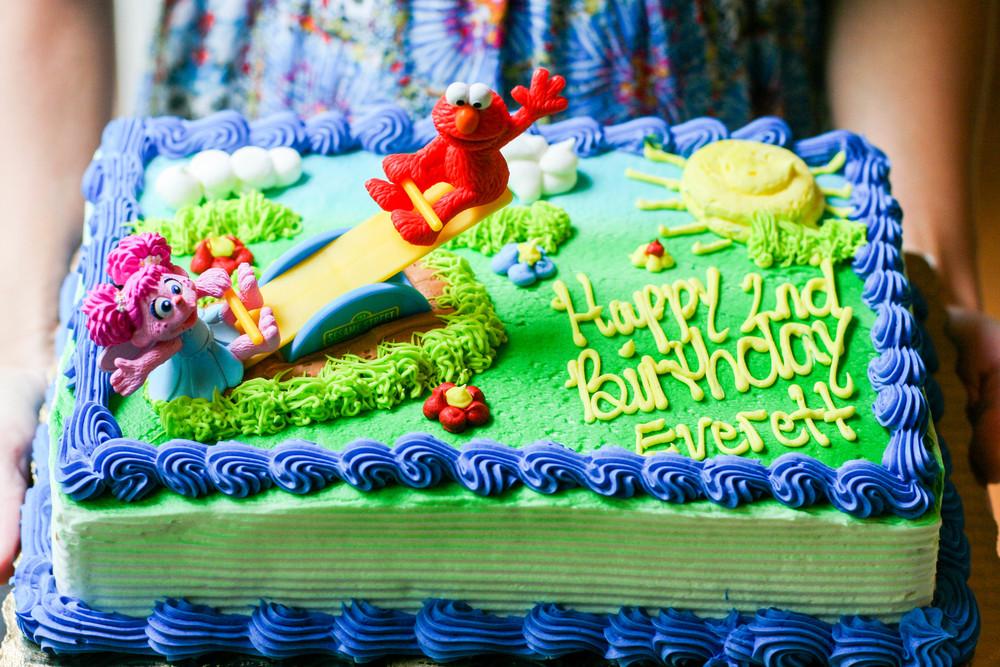 An Elmo Breakfast Birthday Party Oy