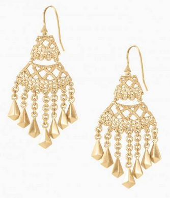 Stella & Dot Alila Lace Chandeliers