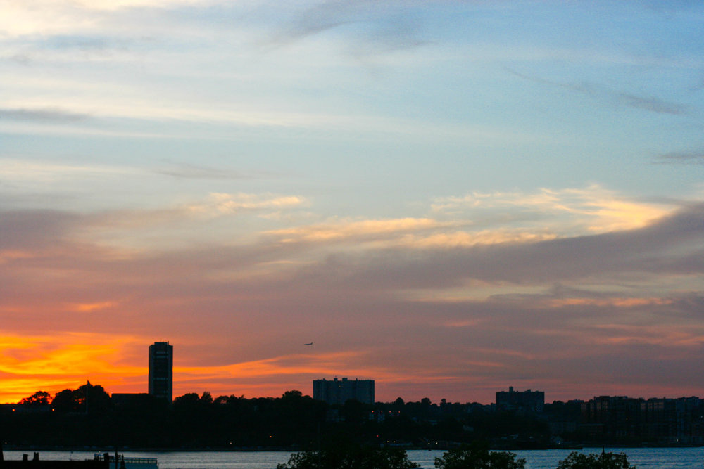 Sunset over the Hudson River from a few nights ago. Taken from High Line Park.