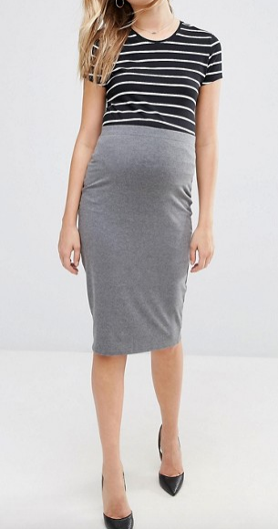 ASOS Maternity Midi Pencil Skirt
