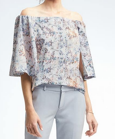 Structured Off-Shoulder Top