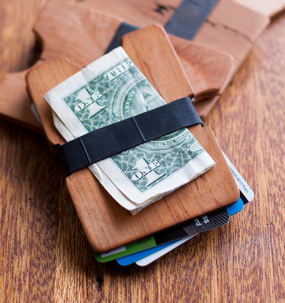 Have you seen these yet? The Droolbox is the best dude wallet :) You can get it engraved, too!