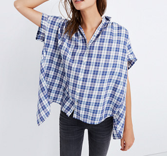 Madewell Popover Top