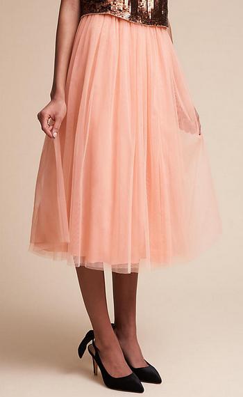 Leena Skirt in Peach