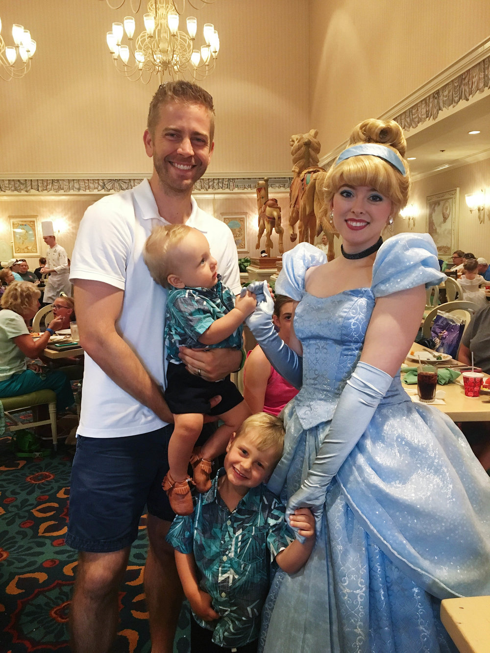Dax tolerated Cinderella. Everett legit fell in love. And don't let Stevie fool you - we was a tiny bit enamored too.