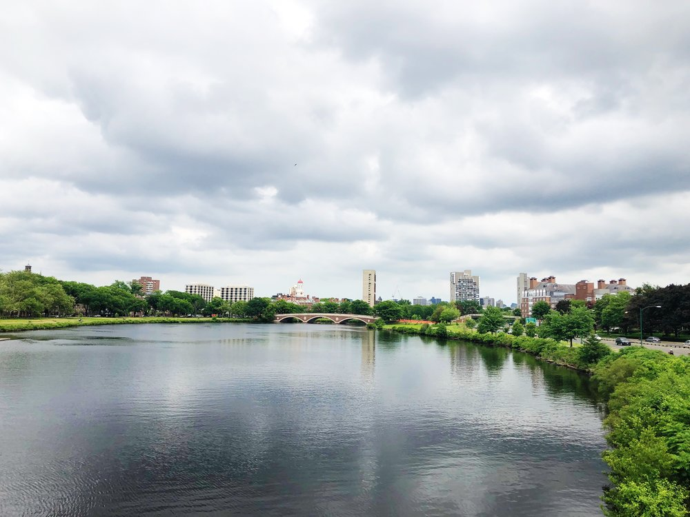 This view of the Charles River never gets old.