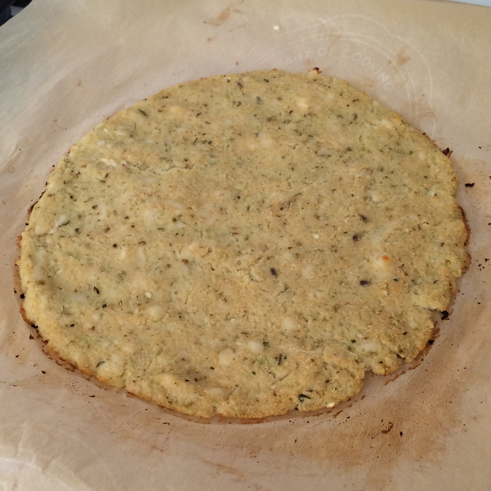 Cauliflower Pizza Crust | My Engineered Nutrition