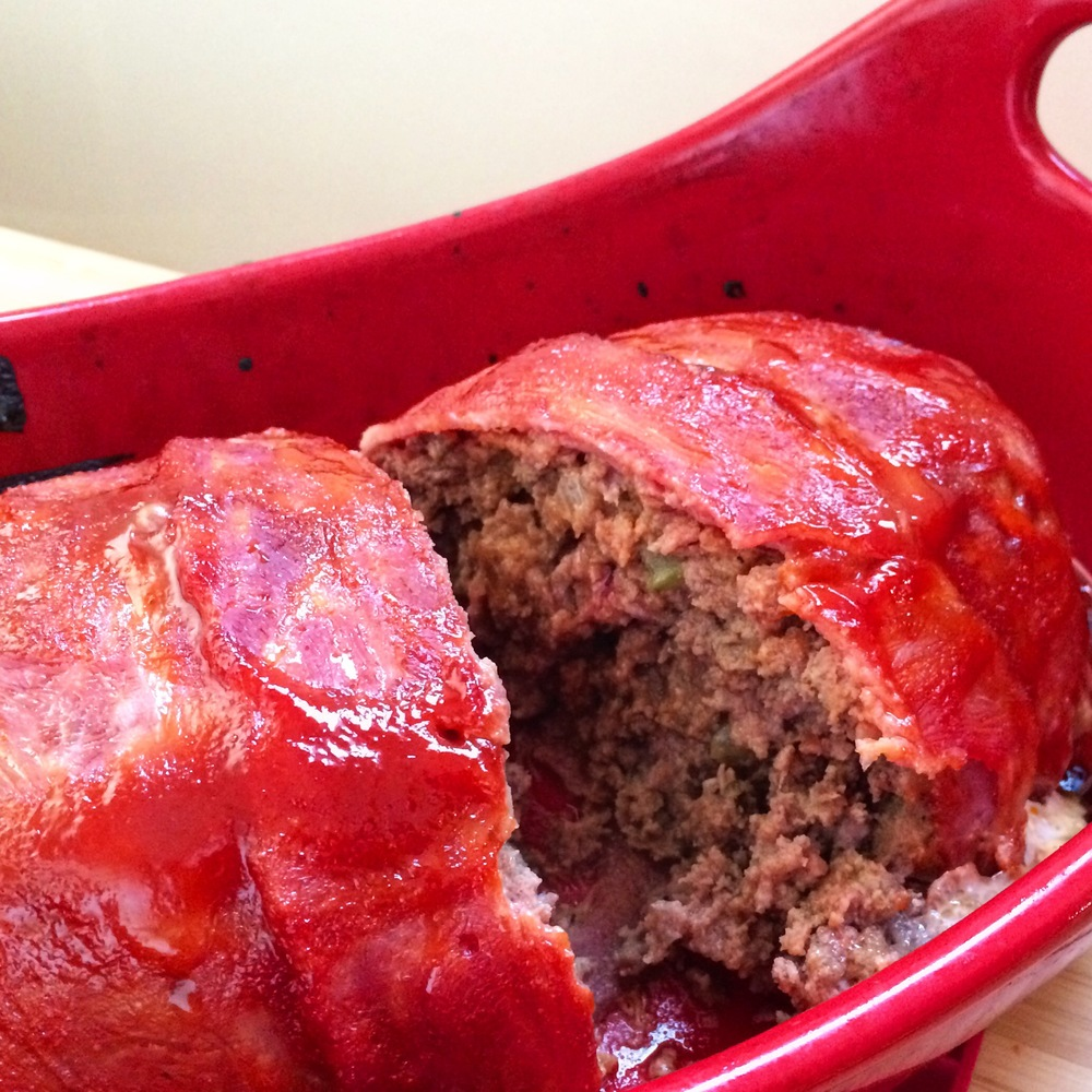 Bacon Wrapped BBQ Meatloaf | My Engineered Nutrition