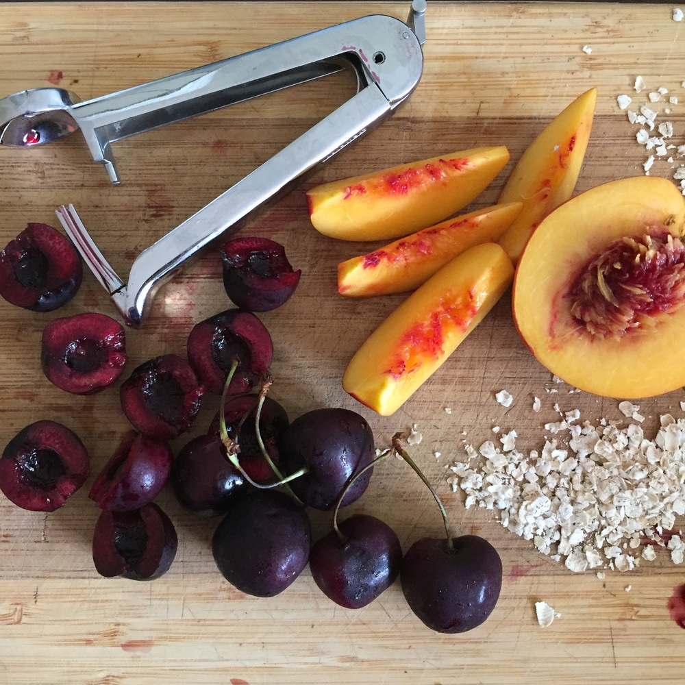 Cherry Nectarine Crumble | My Engineered Nutrition