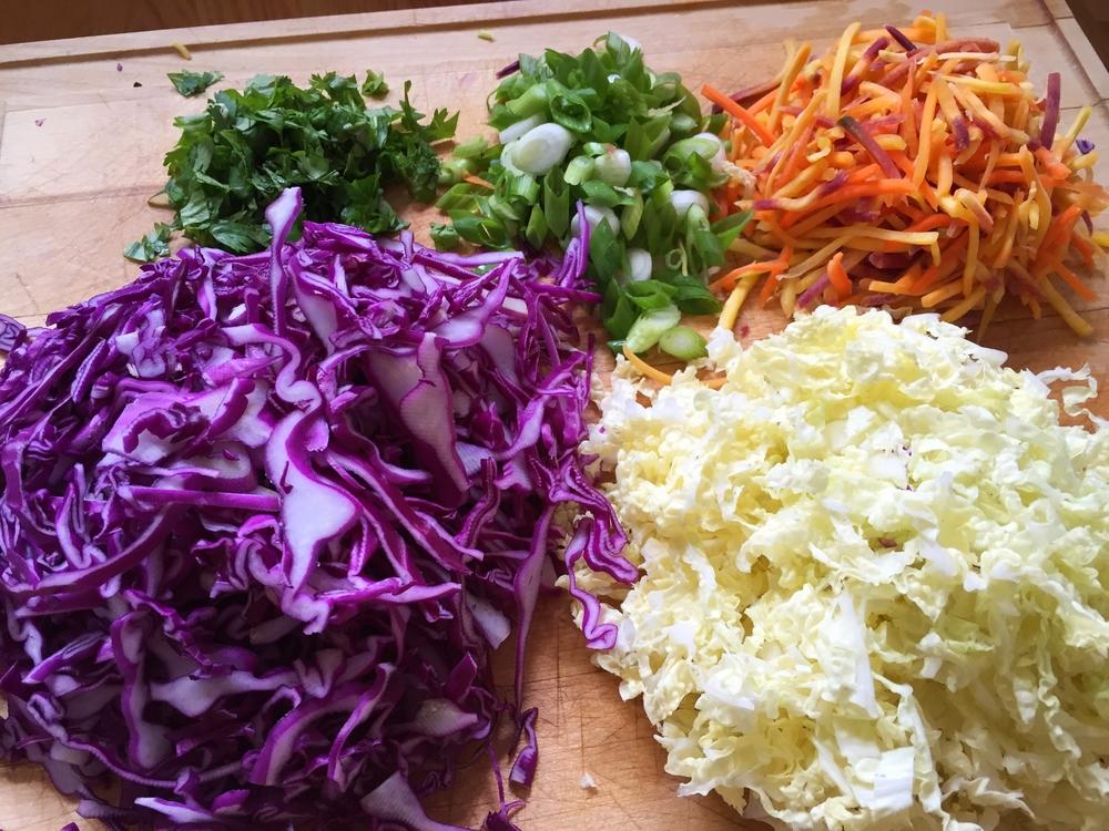 Crunchy Asian Slaw | My Engineered Nutrition