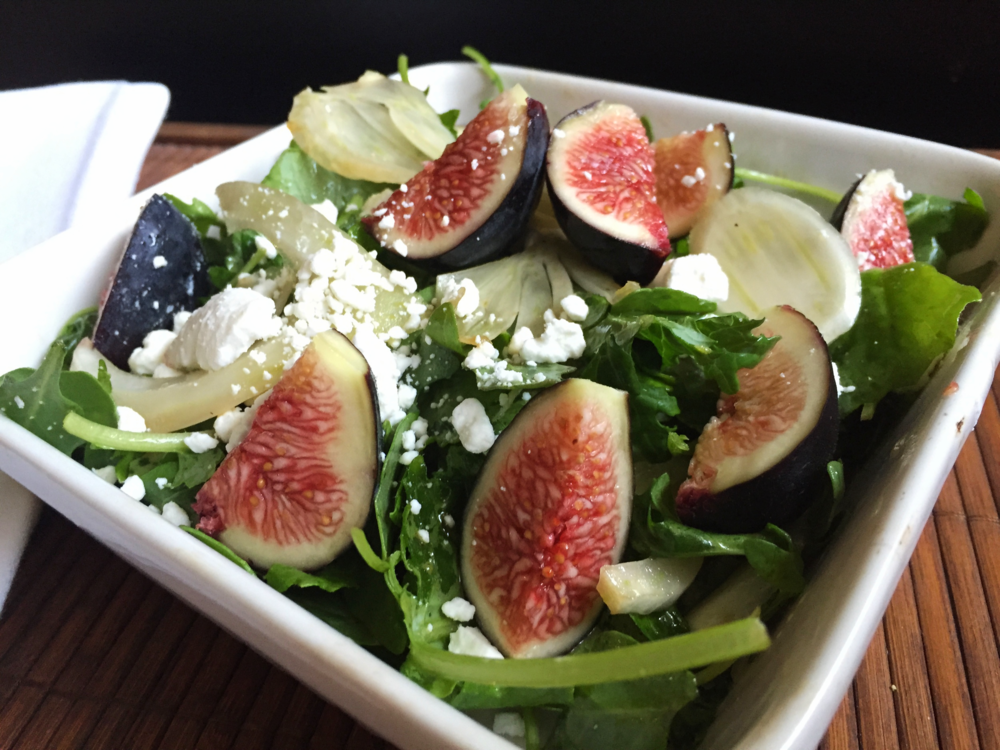 Fennel, Fig and Arugula Salad | My Engineered Nutrition