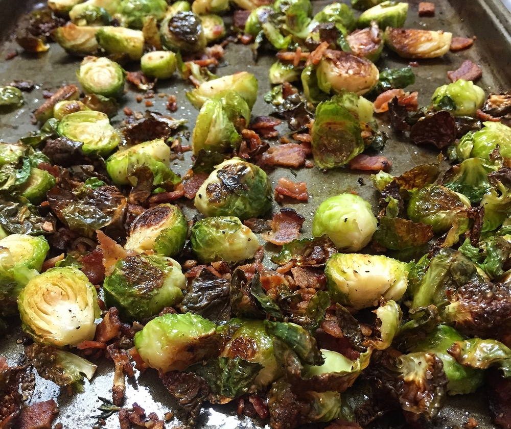 Bacon Roasted Brussels Sprouts | My Engineered Nutrition