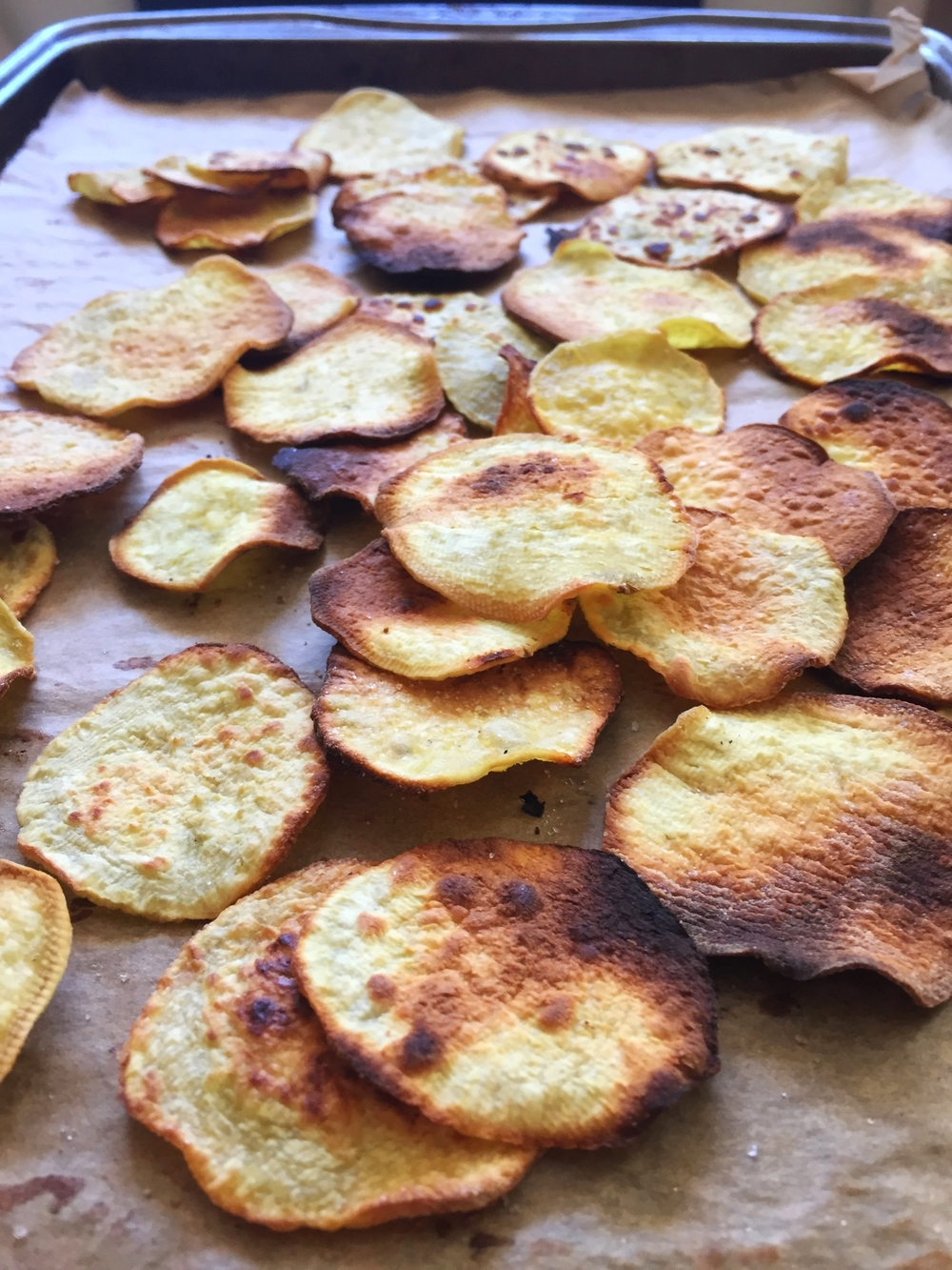Baked Sweet Potato Chips | My Engineered Nutrition