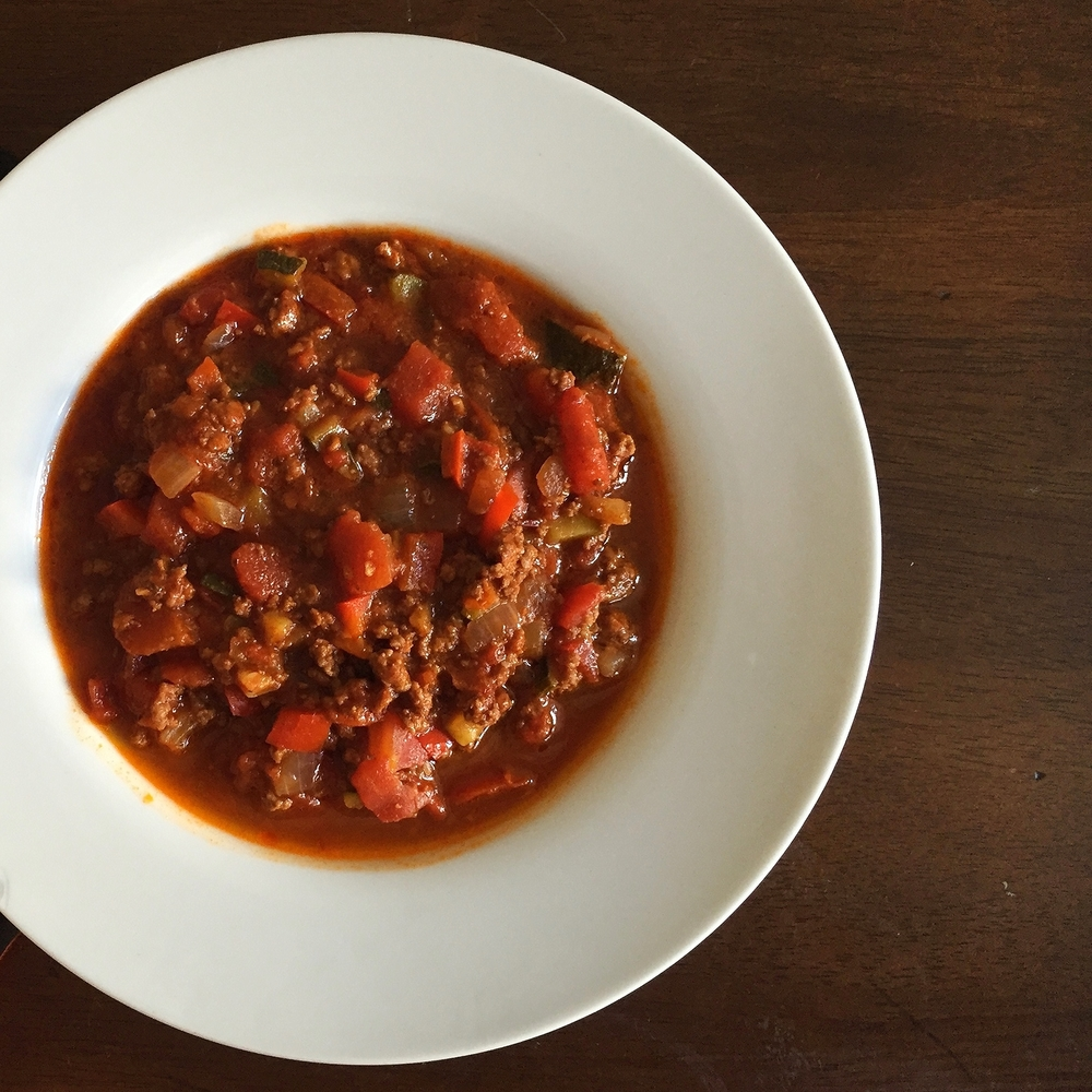 Buffalo Chili | My Engineered Nutrition