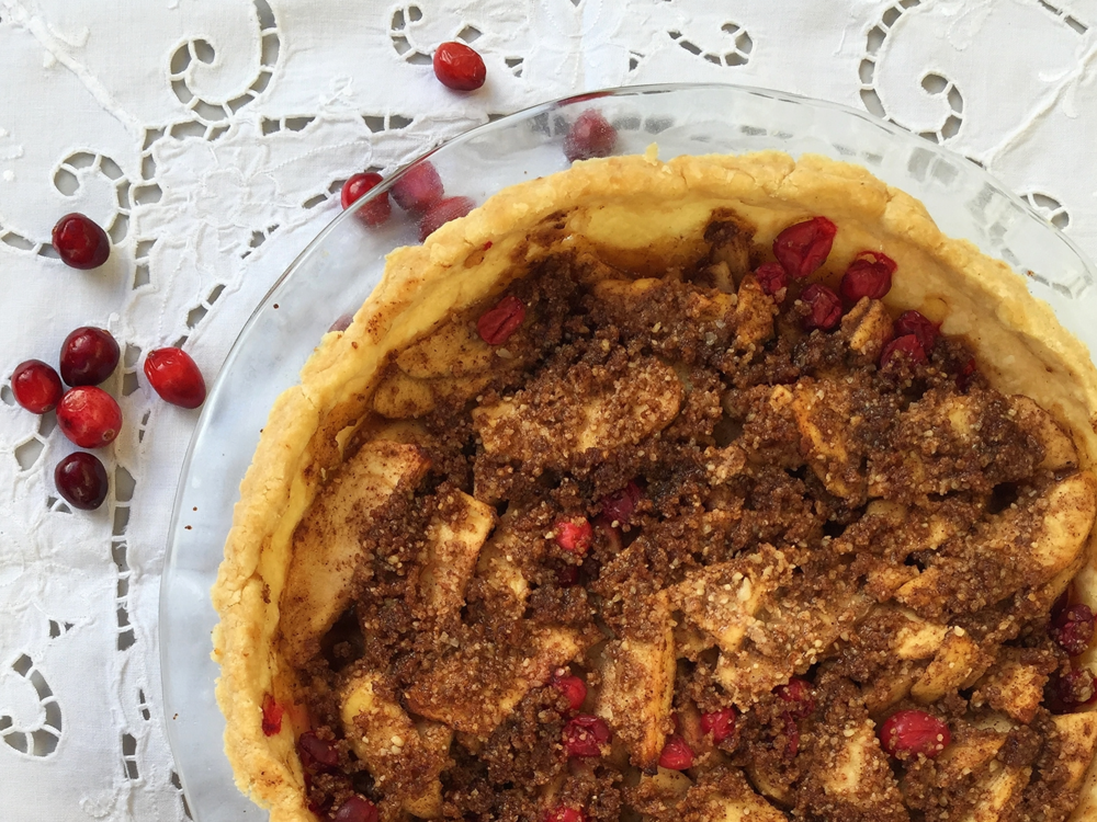 Apple Cranberry Pie | My Engineered Nutrition