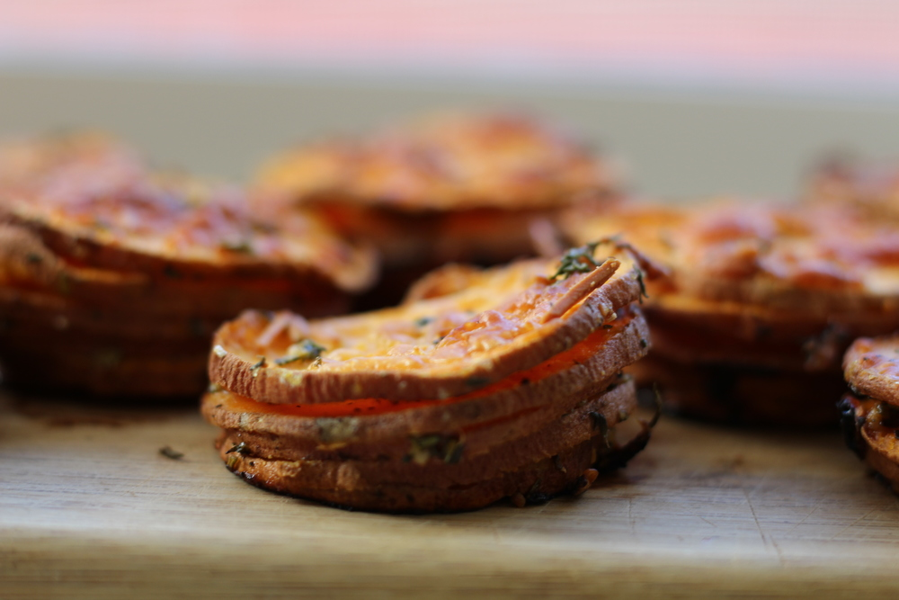 Sweet Potato Stacks | My Engineered Nutrition