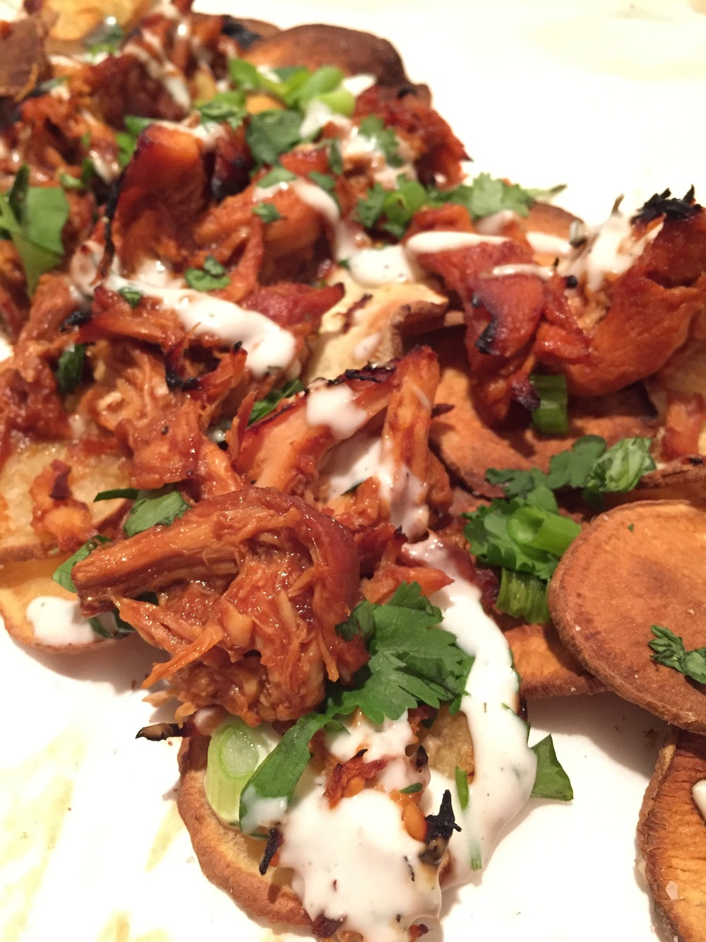 BBQ Chicken Nachos | My Engineered Nutrition