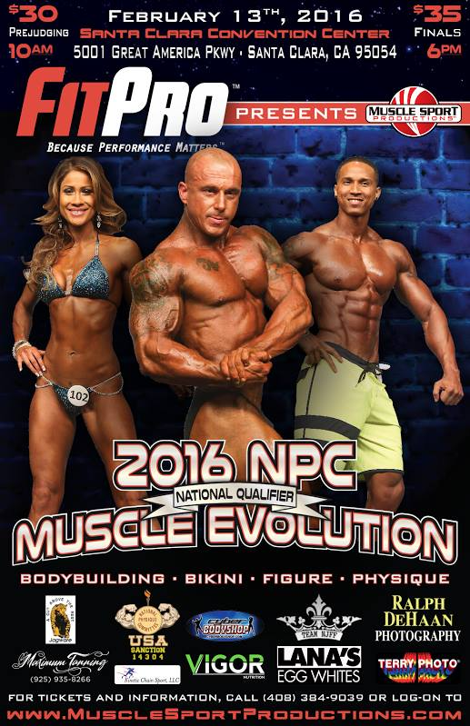 Muscle Evolution Flyer