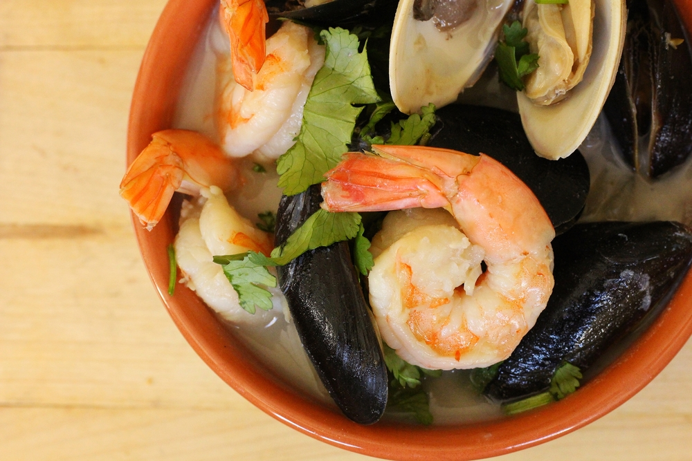 Coconut Seafood Stew | My Engineered Nutrition