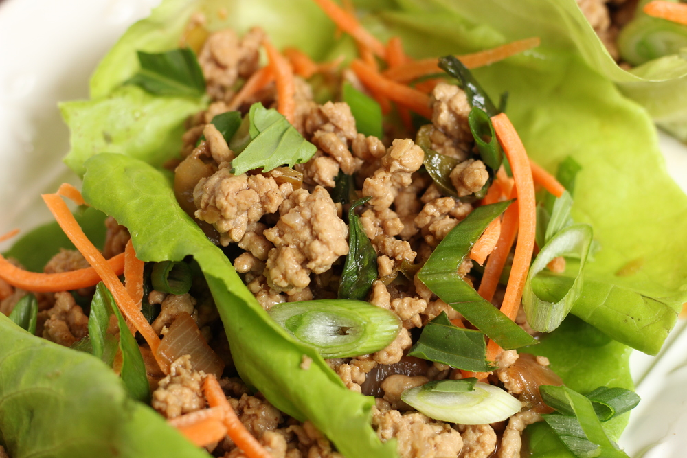 Thai Basil Pork Lettuce Wraps | My Engineered Nutrition
