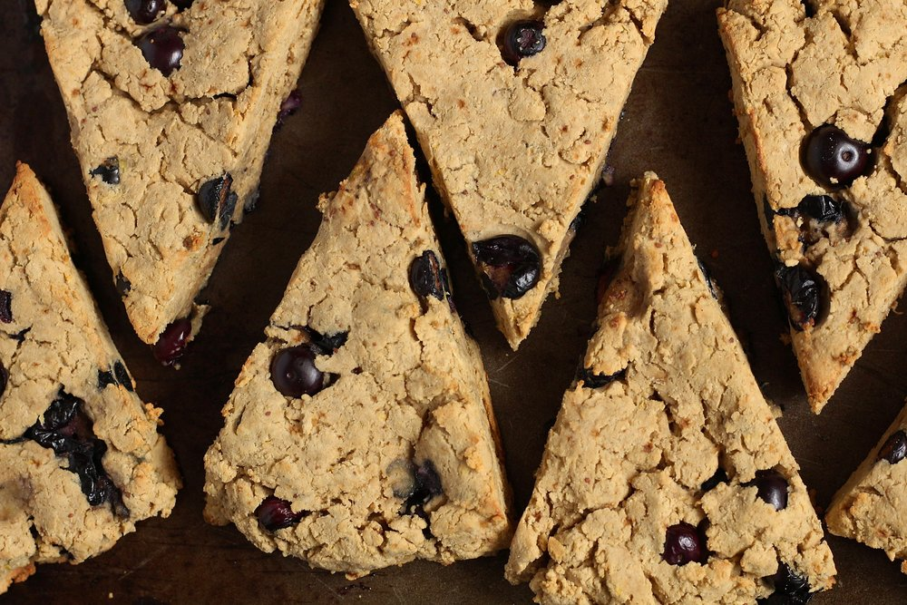 Blueberry Lemon Protein Scones | My Engineered Nutrition