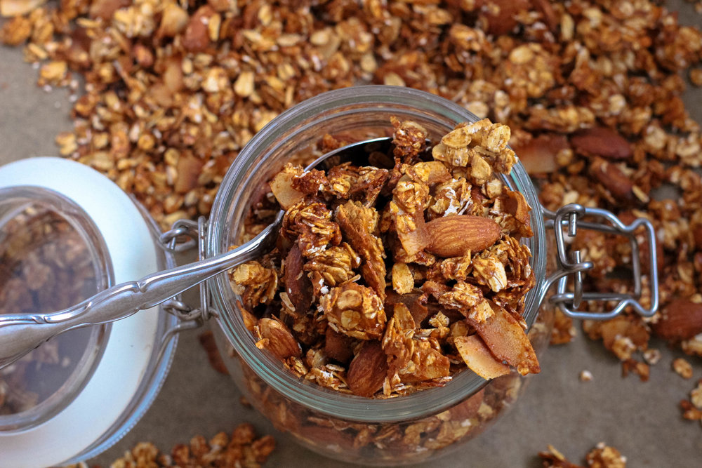 Vanilla Chai Protein Granola | My Engineered Nutrition