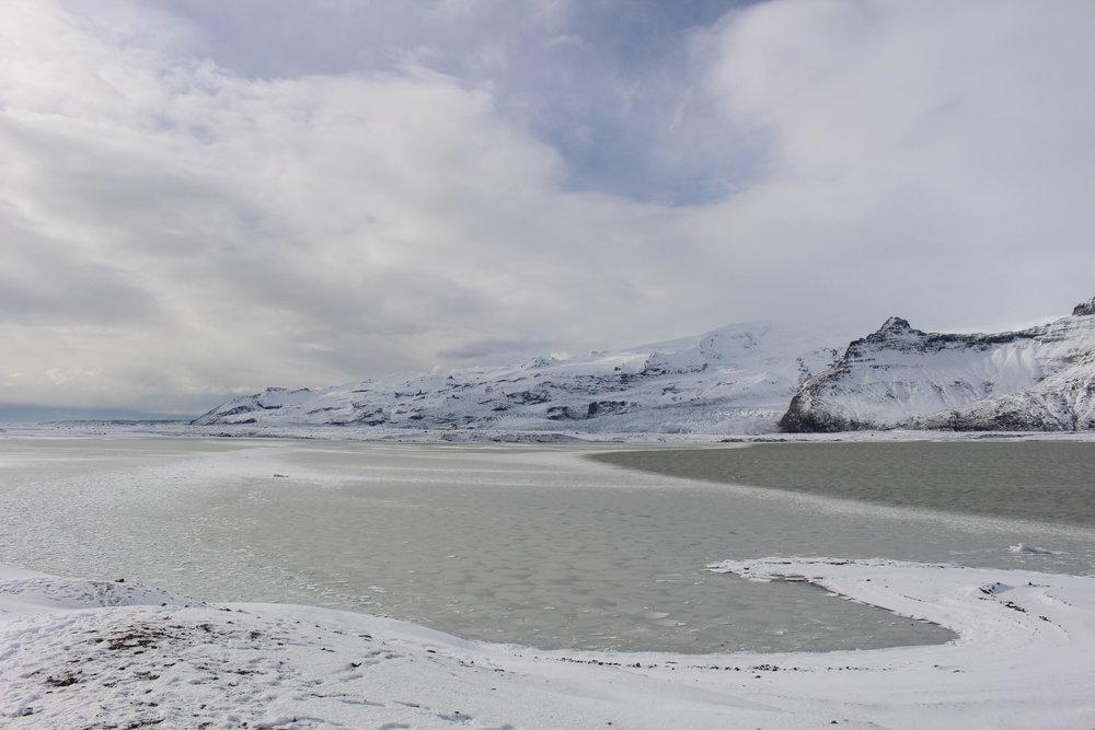 Drive from Breiðarmerkurjökull