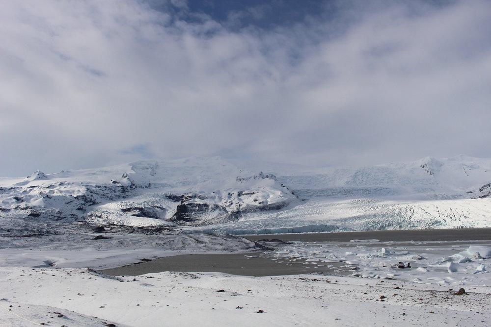 Fjallsárlón, Glacial Lagoon