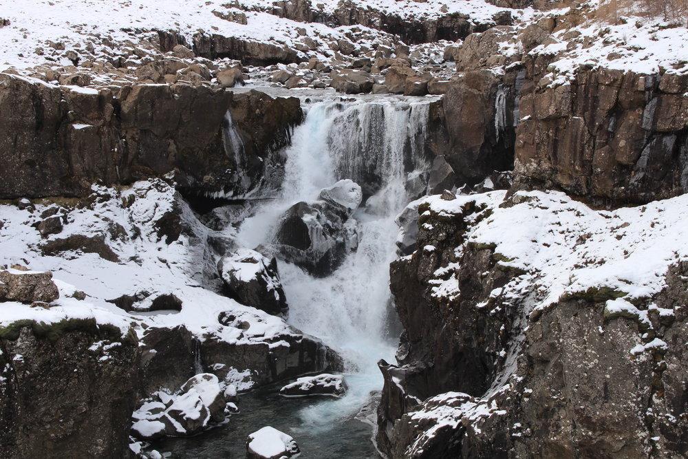 Sveinsstekksfoss, Berufjörður