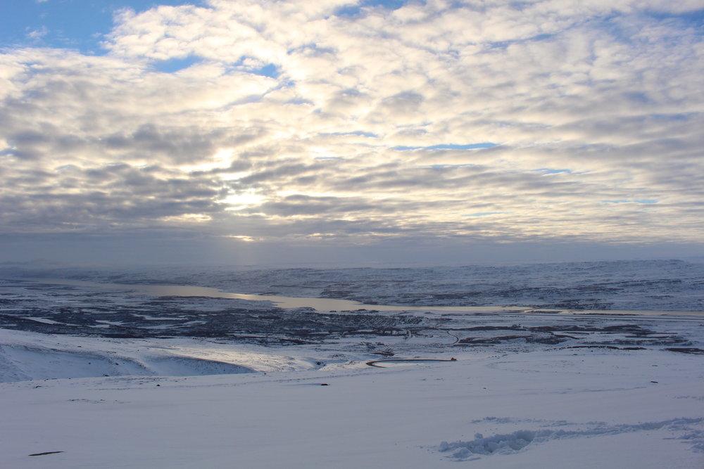 Lagarfljót, lake near Egilsstaðir