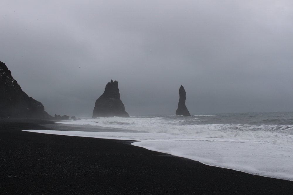 Reynisdrangar, Basalt Sea Stacks