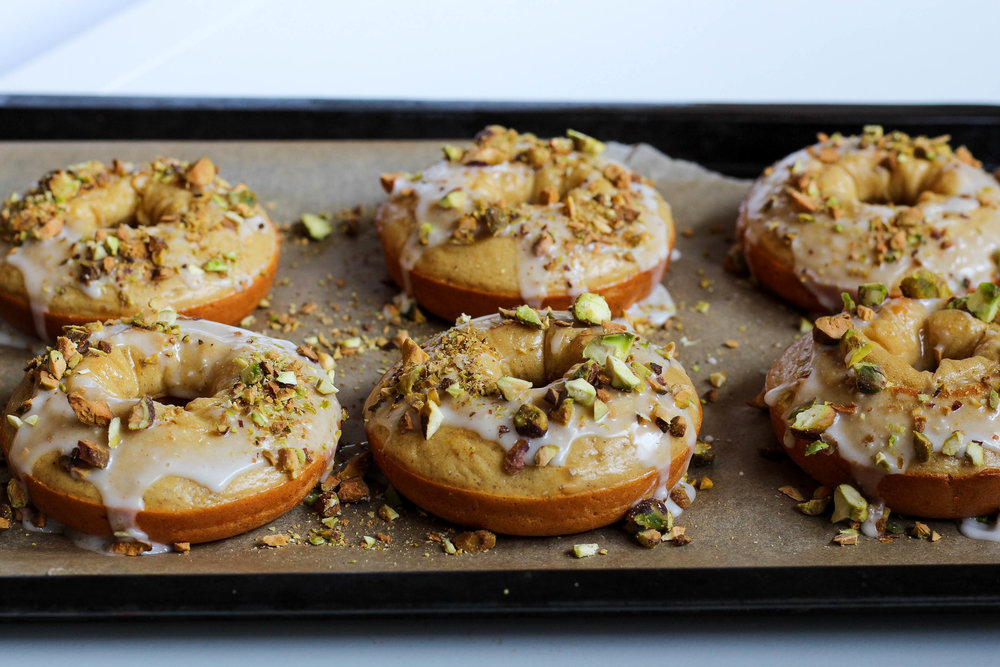 Lemon Pistachio Donuts | My Engineered Nutrition