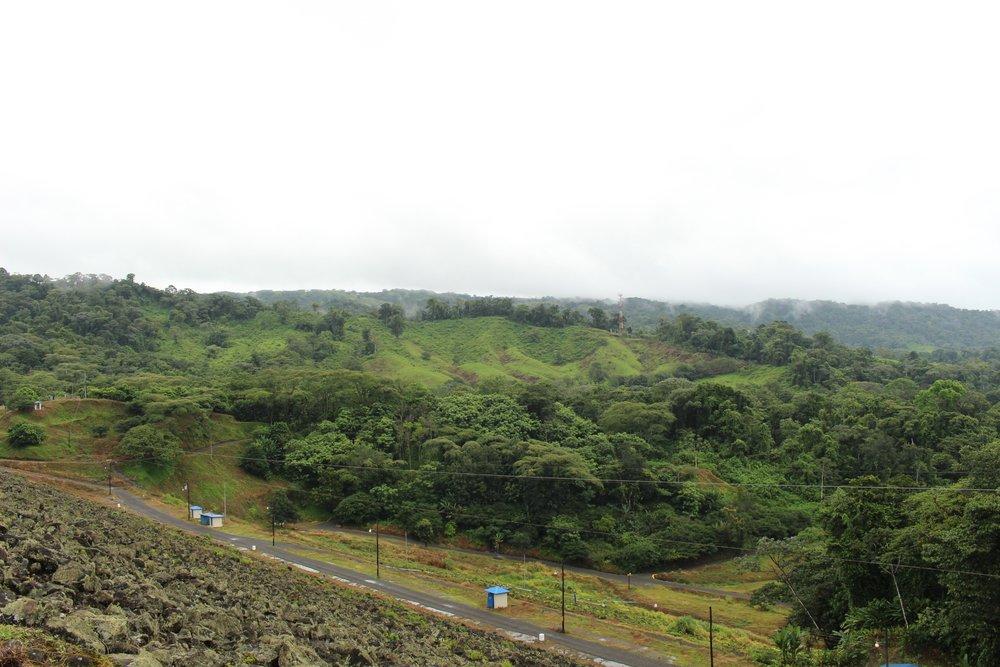 Landscape during drive