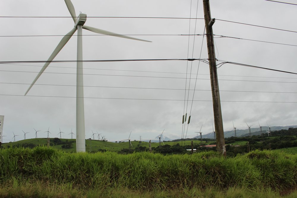 Wind farm in Tejona
