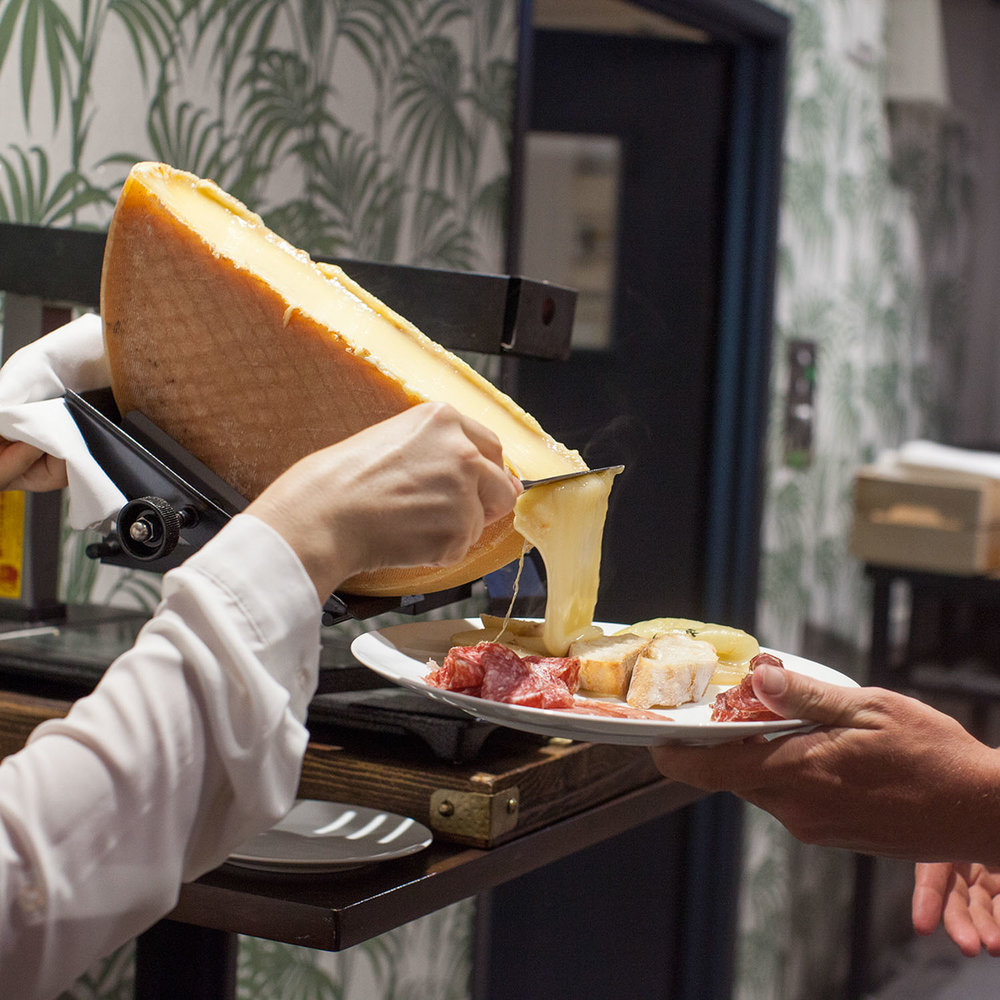 Raclette Brisbane - Fromage the Cow