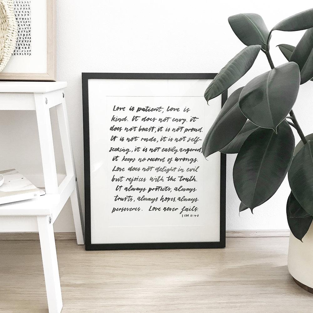 Hunting Louise Custom Lettered Print.jpg