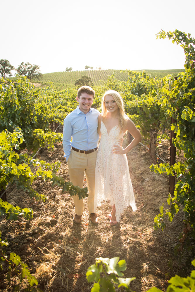 Paso Robles Wedding Photographer Vineyard Engagement Session 001.jpg