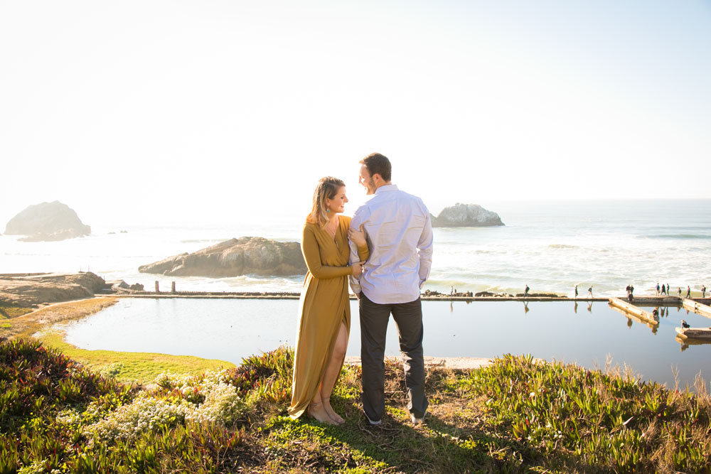 San Francisco Sutro Baths Ruin Engagement Session