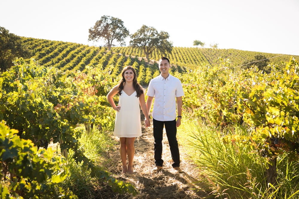 Paso Robles Wedding Photographer Vineyard Engagement Session 005.jpg