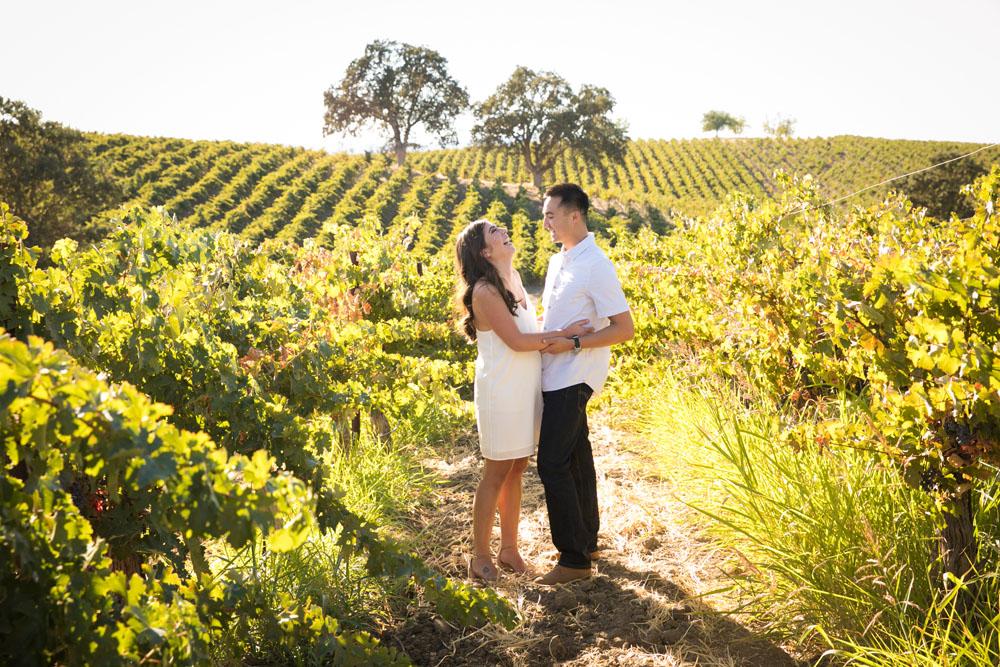 Paso Robles Wedding Photographer Vineyard Engagement Session 009.jpg