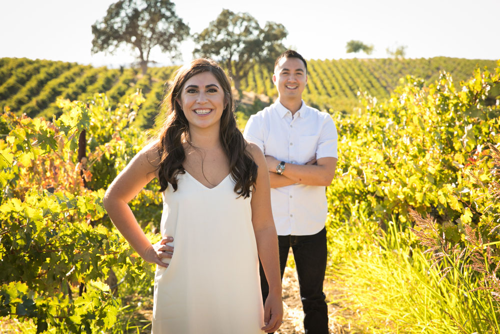 Paso Robles Wedding Photographer Vineyard Engagement Session 012.jpg