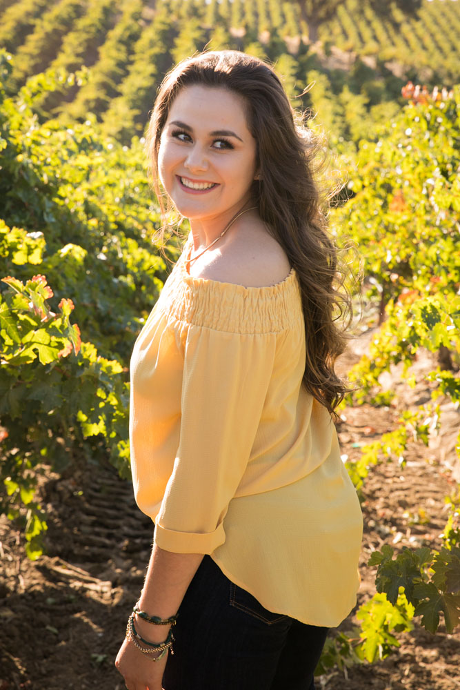 Paso Robles Senior Portrait Photographer Vineyard  013.jpg