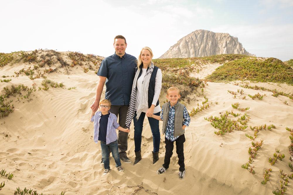 Paso Robles San Luis Obispo Family Portrait Photographer Morro Bay Dunes 025.jpg