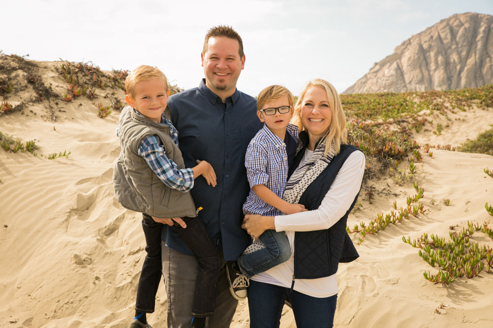 Paso Robles San Luis Obispo Family Portrait Photographer Morro Bay Dunes 026.jpg