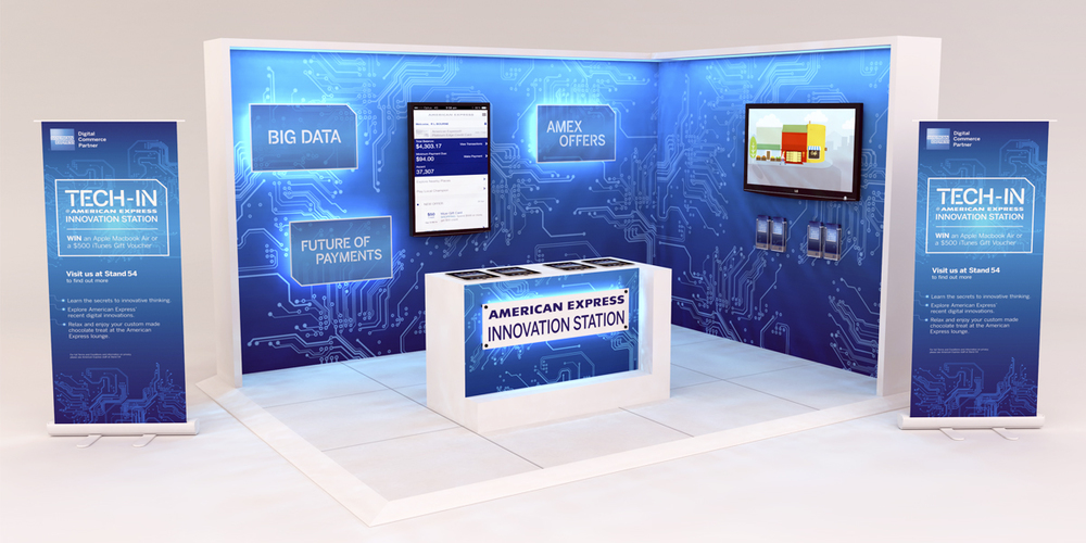 American Express – Innovation Station Stand — Doug Richardson American Express