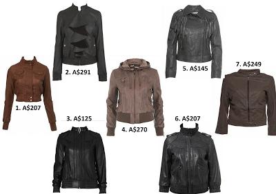women's fashion leather jacket @ friendinfashion