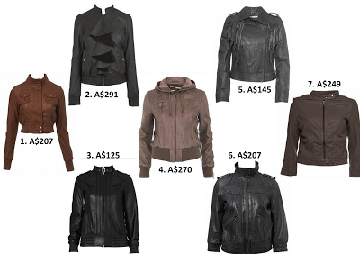 women's fashion leather jacket @ friendinfashion