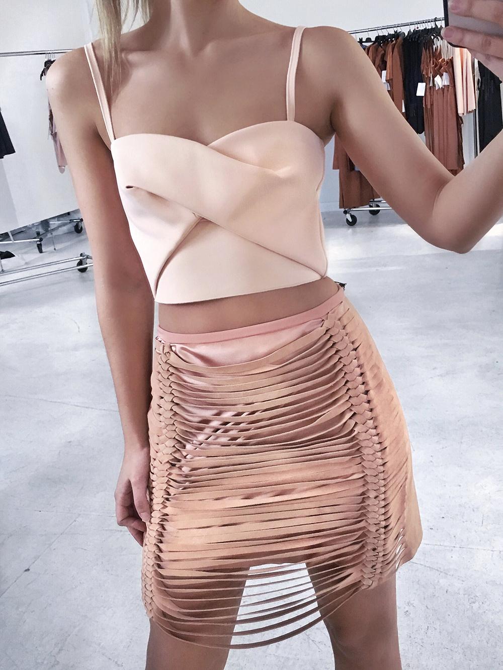 Blush Fashion on Friend in Fashion