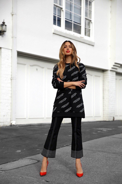 Jasmin Howell, Street Style, Monochrome