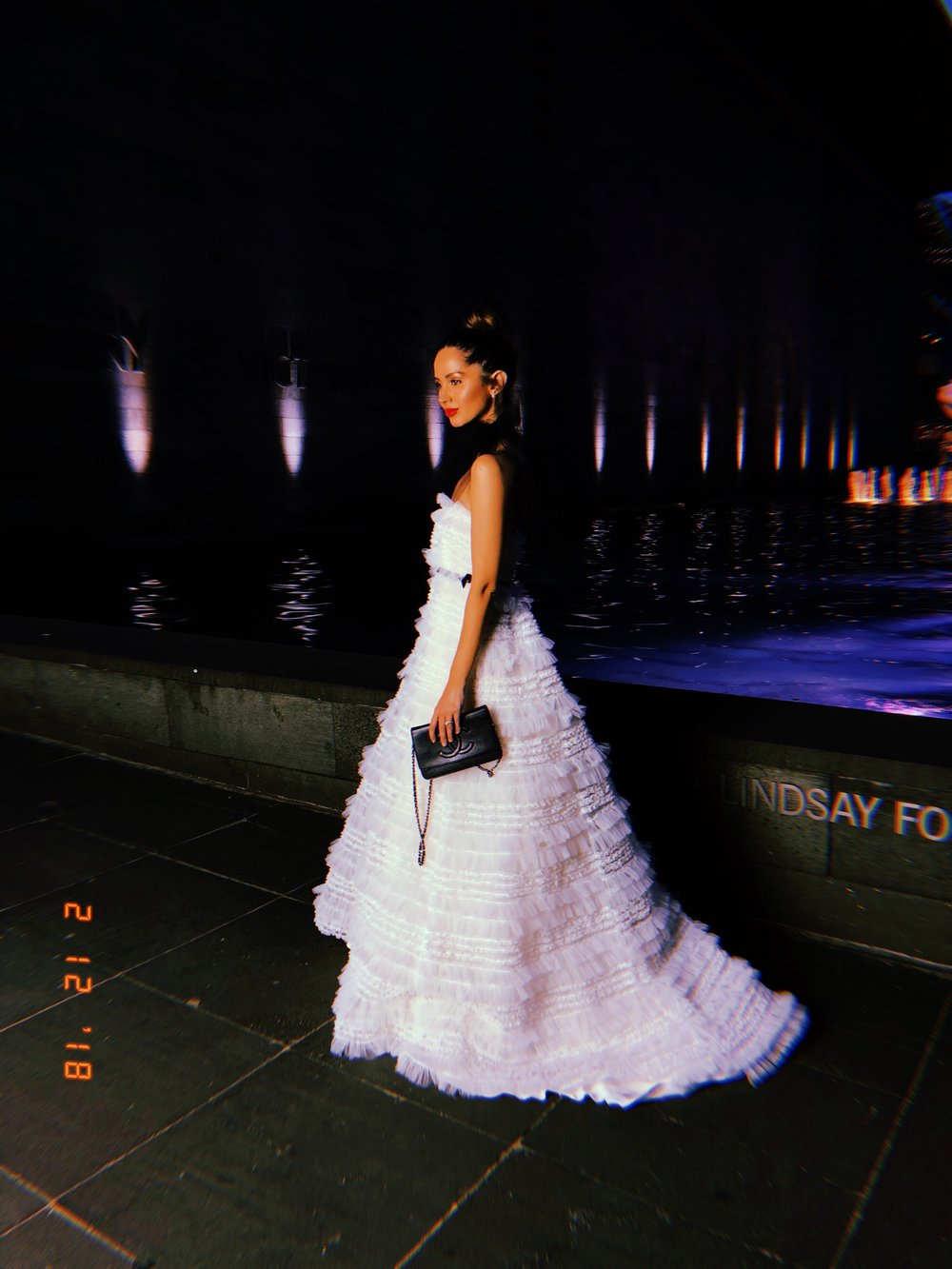 Jasmin Howell, NGV Black Tie Gala www.friendinfashion.com.au